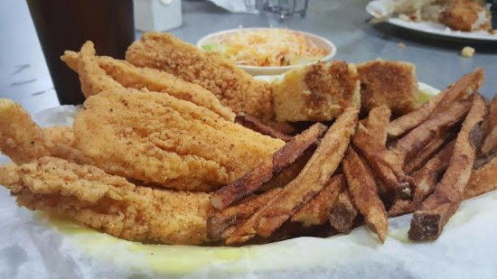 Sanger, Τέξας: Fried Catfish