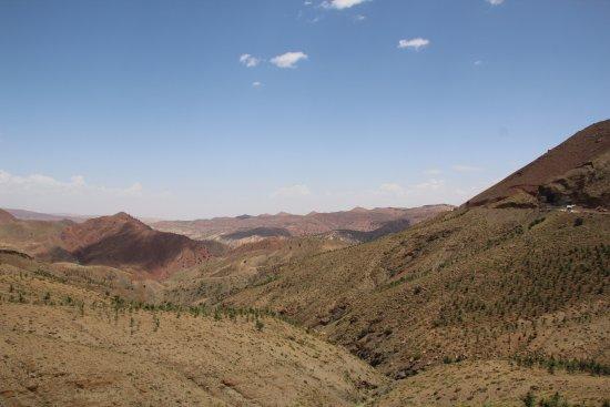 Marrakech-Tensift-El Haouz Region, Fas: Mountain view