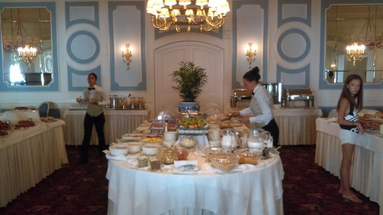 Grand Hotel Miramare: Breakfast buffet