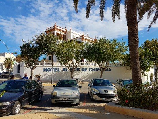 Al Sur De Chipiona: Exterior del Hotel