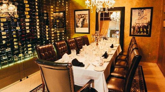 Prime Dine In Our Private Wine Room