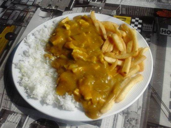Heywood, UK: Chinese chicken curry