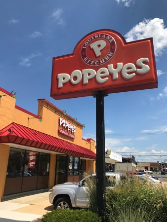 Lexington Park, MD: Popeyes!!