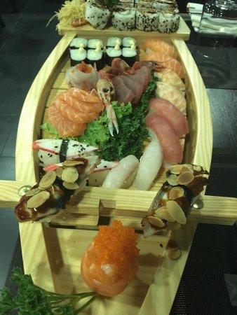 Ristorante giapponese shan billede af ristorante for En ristorante giapponese