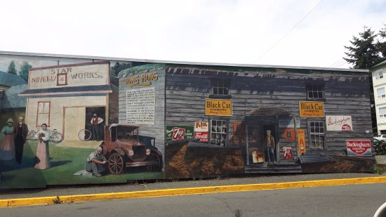 Wall Murals: So many Murals around town, worth taking time to do a walk-a-bout to check them out