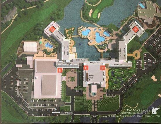 marriott desert springs villas ii resort map Hotel Layout Picture Of Jw Marriott Desert Springs Resort Spa marriott desert springs villas ii resort map