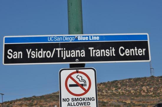 San Ysidro, CA: Grens tussen USA / Mexico