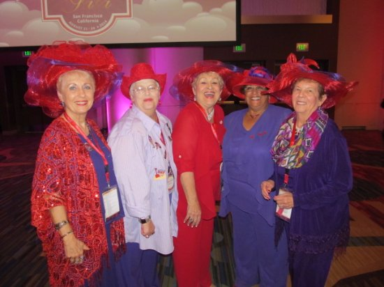 Lowell, IN: Red Hats love to have fun
