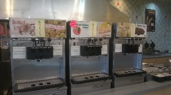 Yuba City, CA: less than half of the machines - flavors change