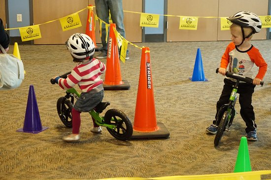 Strider Bike Adventure Zone At Discovery Gateway Children S Museum
