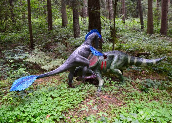 Rehburg-Loccum, Allemagne: Velociraptor & Protoceratops