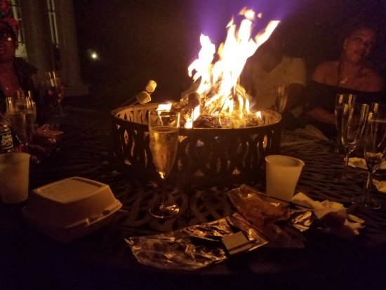 Bethany, PA: Roasting marshmallows and meeting new people.