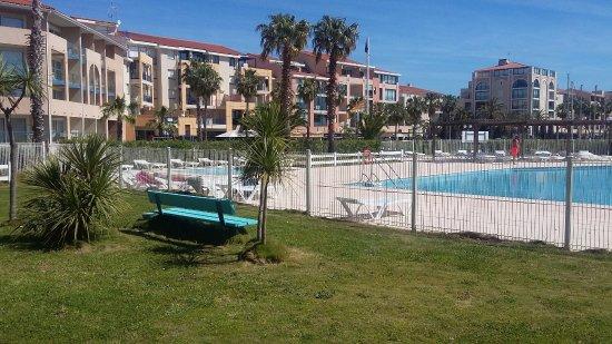 Jardin Et Piscine Picture Of Residence Mer Golf Port Argeles - Residence port argeles