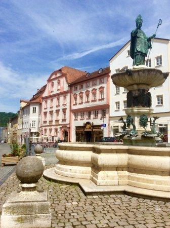 Eichstatt, Tyskland: Eichstätt Marktplatz