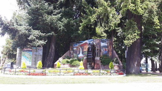Chemainus, Kanada: Waterwheel Park