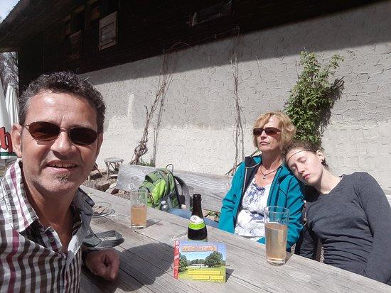 Glottertal, Germany: meine Familie und ich beim Sonnentanken :-)