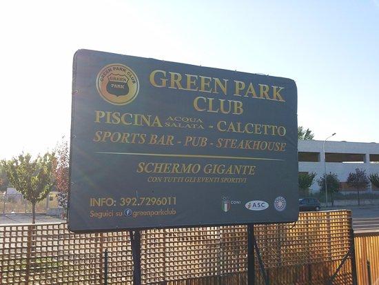 Piscina Passo Corese.Cartellone Picture Of Green Park Club Passo Corese