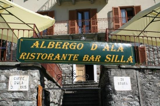 Ala di Stura, Italia: RISTORANTE SILLA -ALBERGO D'ALA