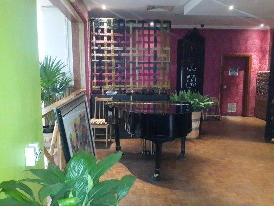 Nkoyo: Indoor seating area