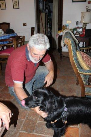 Torrita di Siena, Italien: Il Sig. Mario e Kisu