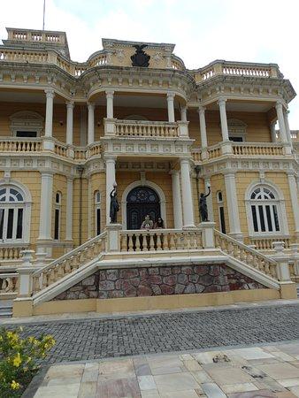 Palacio Rio Negro : Facha do palácio do rio Negro