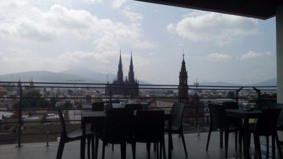 Zamora de Hidalgo, Mexico: Vista central del Restaurant