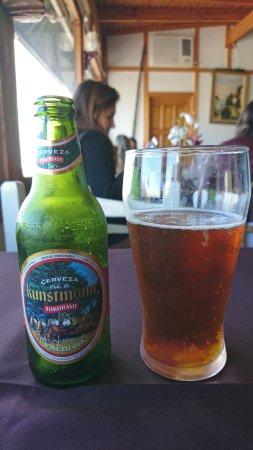 Los Pomairinos: Cerveja boa ;)