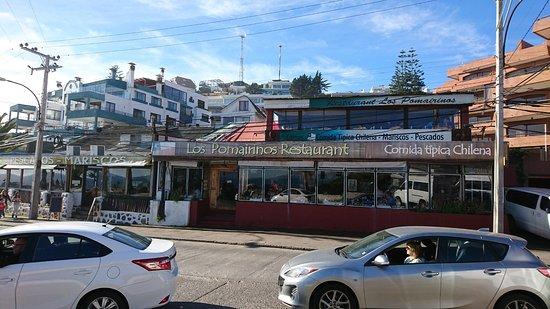 Los Pomairinos: Fachada do restaurante
