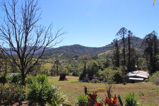 Eungella, Avustralya: The view on the valley