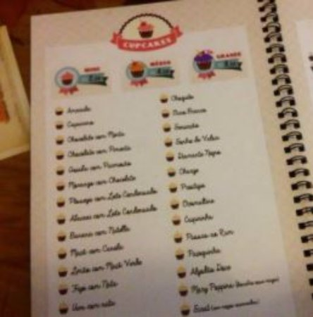 Sao Leopoldo, RS: as várias opçoes de cupcakes