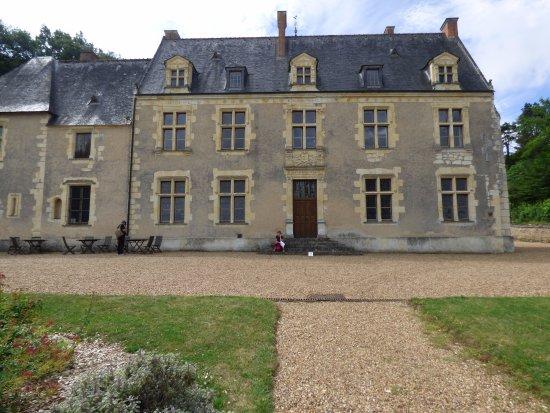 Couture-sur-Loir, Francia: façade côté jardin