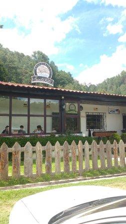 Solola, Guatemala: Extérieur du resto