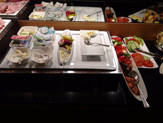 Townhouse Hotel: buffet de café da manhã