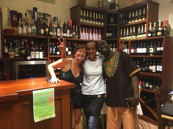 La Torre...in Cantina : We loved the Mojito party! Super friendly Morrocan lady made us feel at home. Asante from Kate &