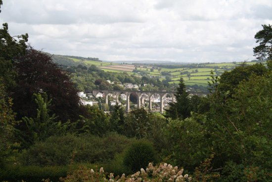 St Dominick, UK: View to Calstock