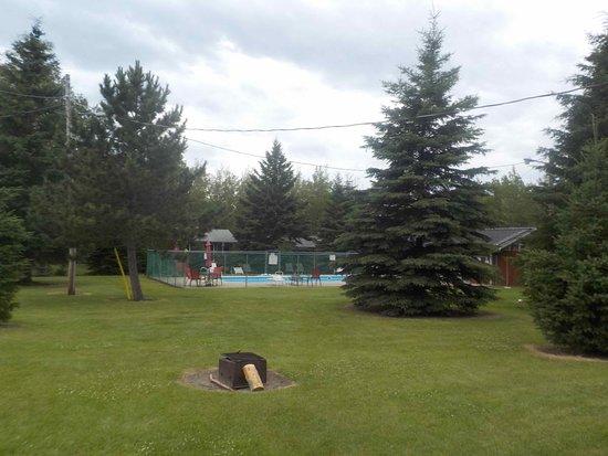West Hawk Lake, Canadá: Pool Area