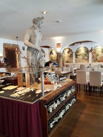 Hotel Royal: sala colazione