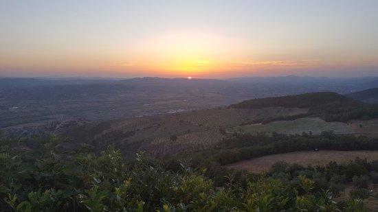 Trevi, Italia: From the garden