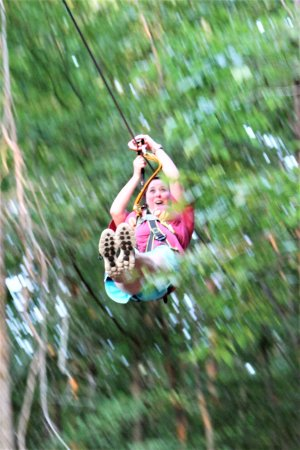 Winona, Миссисипи: Treetop Quest Zip Line