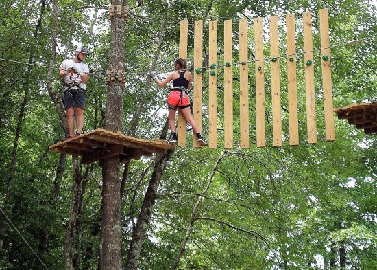 Winona, MS: Aerial Obstacle on Treetop Quest