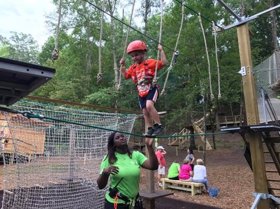 Winona, MS: Kids Quest Elevated Challenge Course