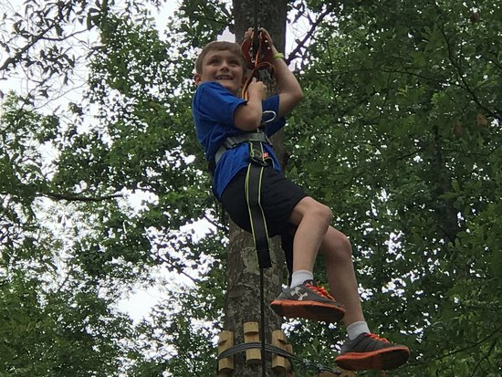 Winona, MS: Treetop Quest Zip Line