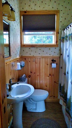 Schroon Lake, NY: Guest bathroom