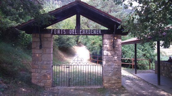La Coma I La Pedra, Spanyol: Entrada de las Fonts