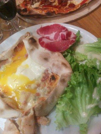 Cherre, Francja: pizza carrée italienne