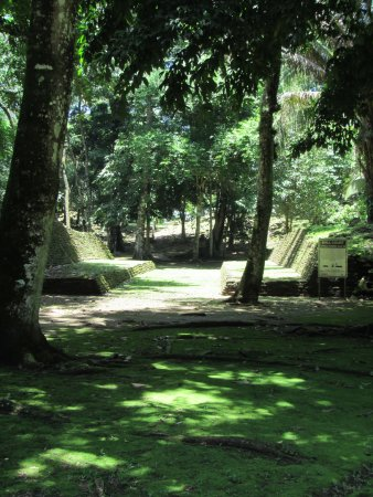 Toledo District, Belize: ball court