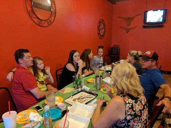 Tioga, TX: Dinner with my Family