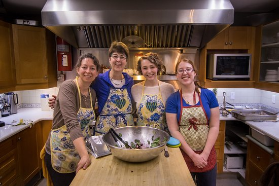 The Rosebud Inn girls cooking up a storm!