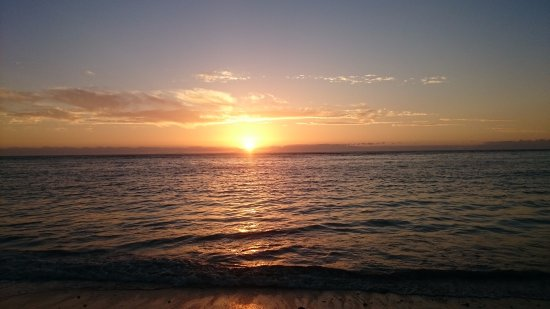 Beautiful sunset over Strand Beach