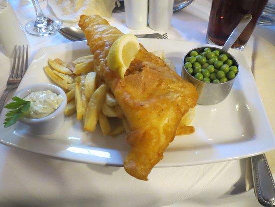 The Royal at Dockray: Fish and chips